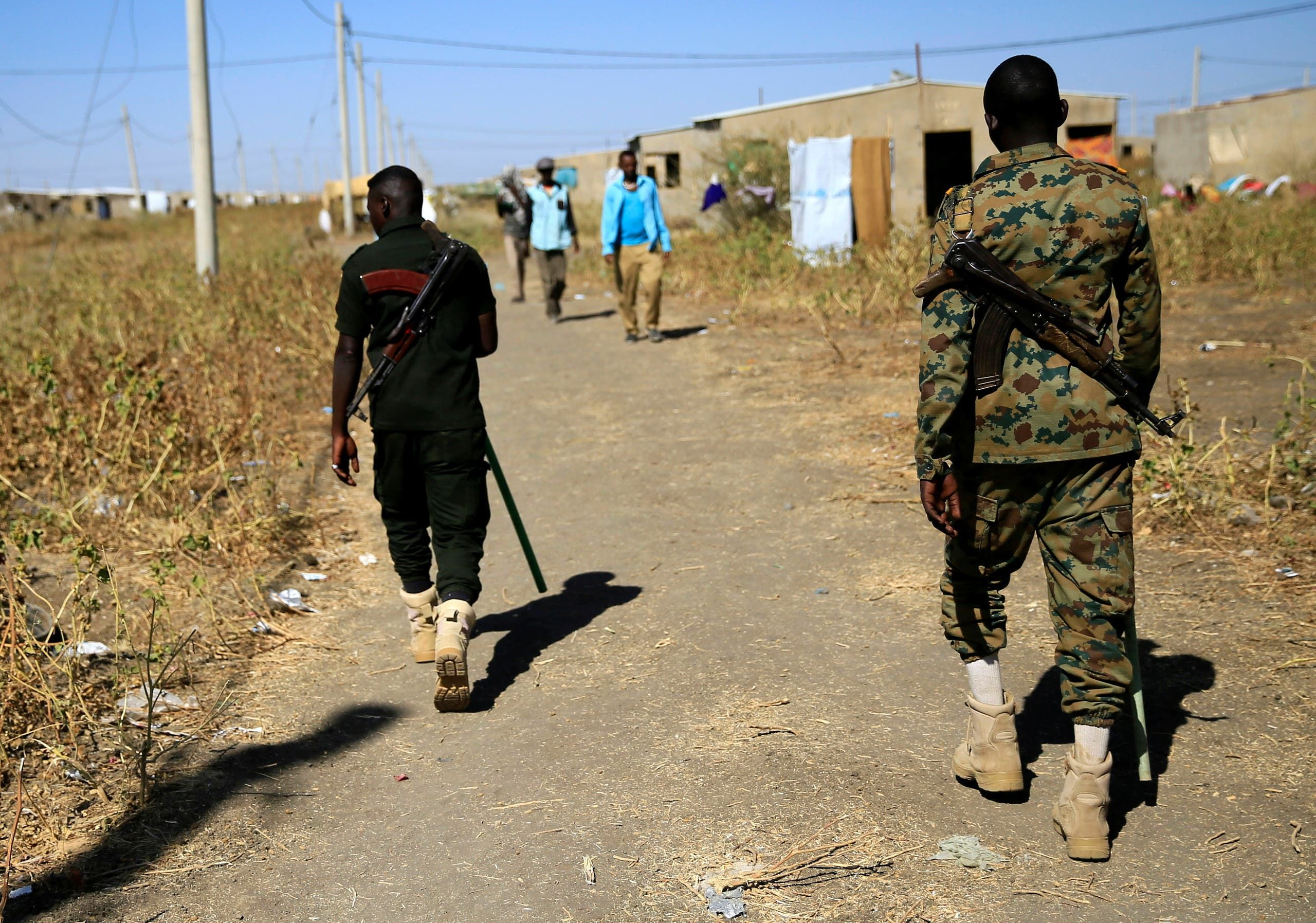 من الحدود الإثيوبية السودانية (أرشيفية- رويترز)