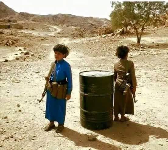 أطفال اليمن في مناطق الحوثي
