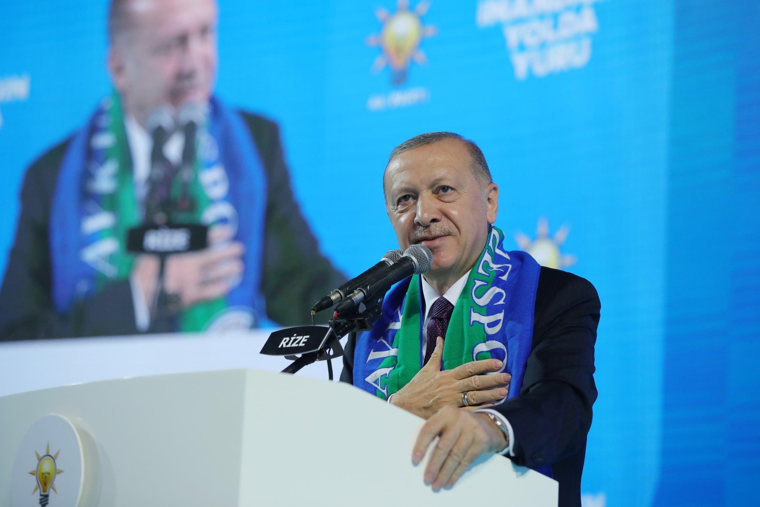 رجب طيب أردوغان (أرشيفية- رويترز)