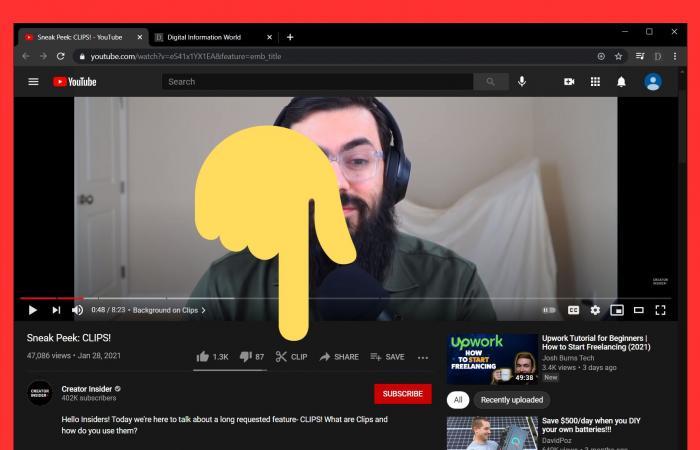 يوتيوب يختبر ميزة Clips للفيديوهات القصيرة من البث المباشر