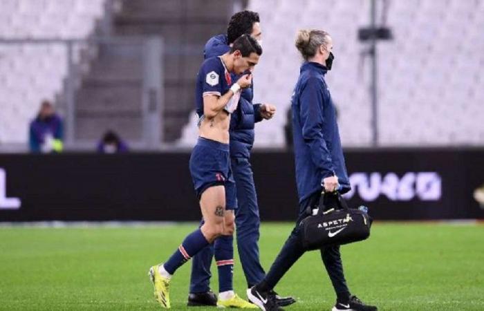 باريس سان جرمان يتلقى ضربة قوية قبل مواجهة برشلونة